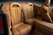 2021 Lexus LC convertible-rear seats