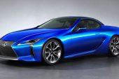 2021 Lexus LC convertible-roof up