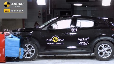 2021 Nissan Juke ANCAP crash test