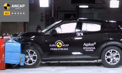 2020 Nissan Juke scores 5-star ANCAP safety rating