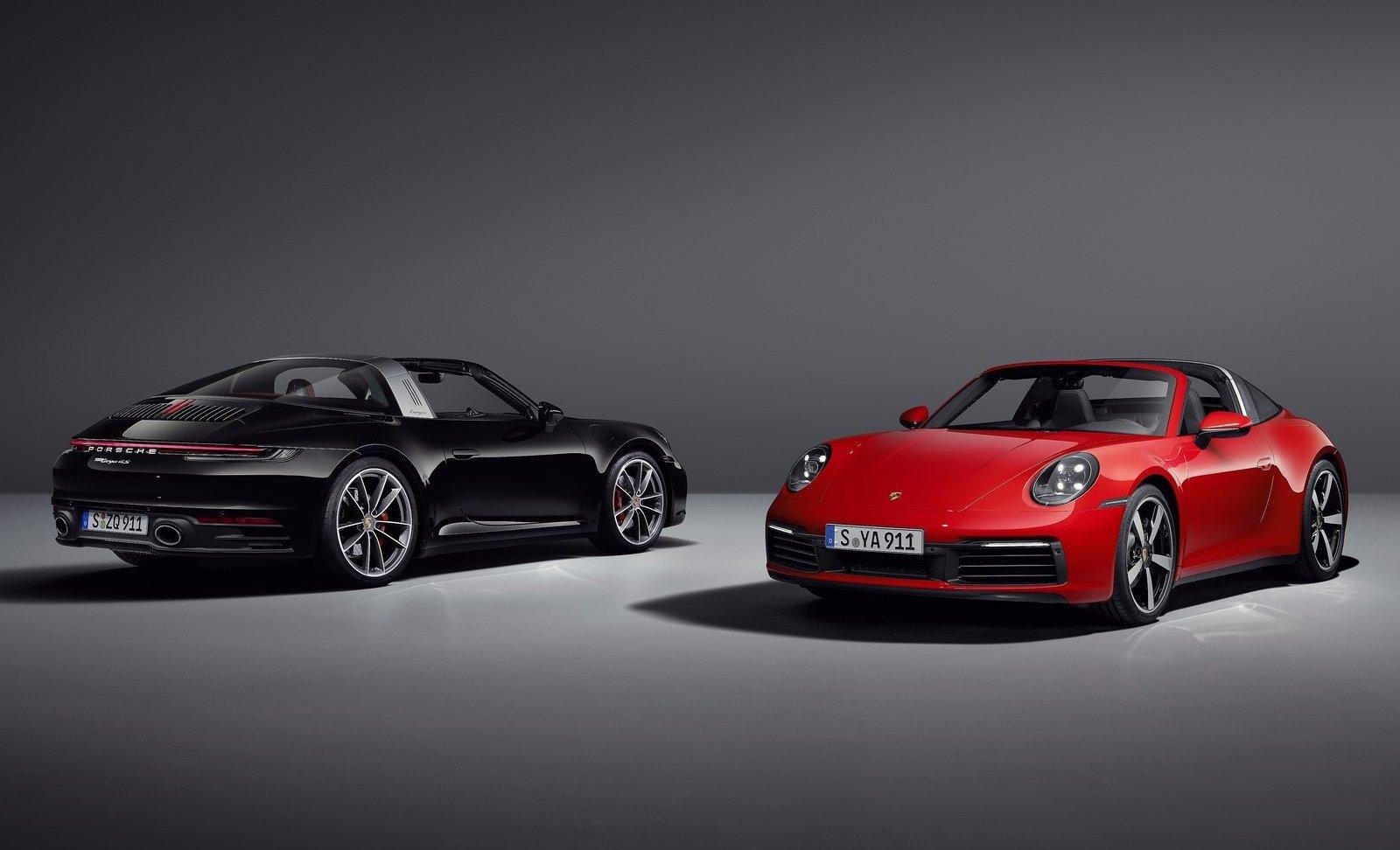 Porsche 911 Targa unveiled, on sale from $275800