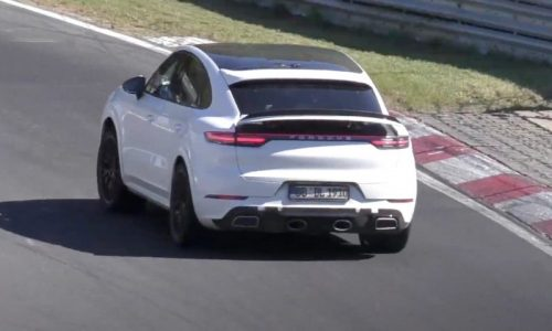 Porsche Cayenne Coupe GTS spied, looking for Nurburgring record? (video)