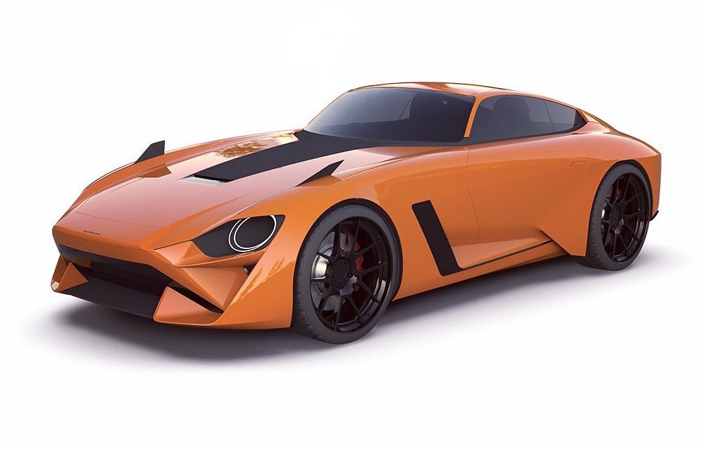 2022 Nissan 400Z rendering