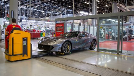 Ferrari production back on track following COVID-19 suspension