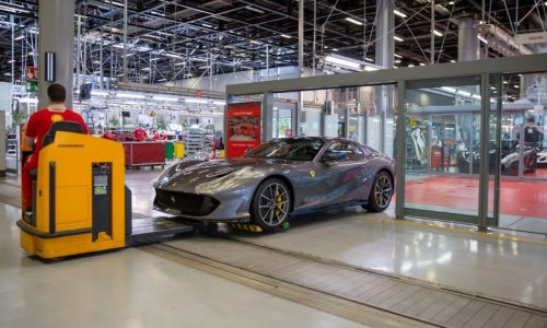 Ferrari production back on track following COVID-19 suspension