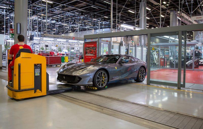 Ferrair 812 GTS production-Italy
