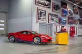Ferrari F8 Tributo production post-coronavirus