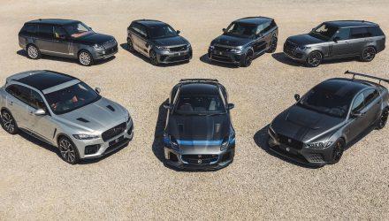Jaguar Land Rover SVO range