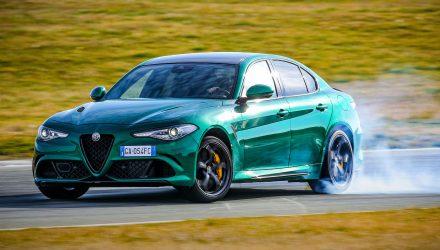 MY2020 Alfa Romeo Giulia Quadrifoglio-drift