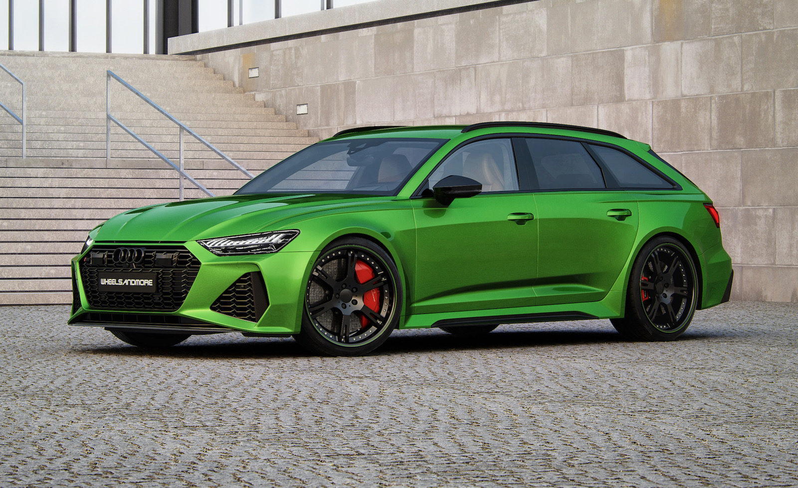 Wheelsandmore Goes Nuts With 2021 Audi Rs 6 Avant Up To 1000hp Performancedrive
