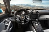 2018 Porsche 718 Cayman-interior