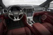 2019 Jeep Grand Cherokee Trackhawk - interior