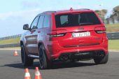 2019 Jeep Grand Cherokee Trackhawk - launch control