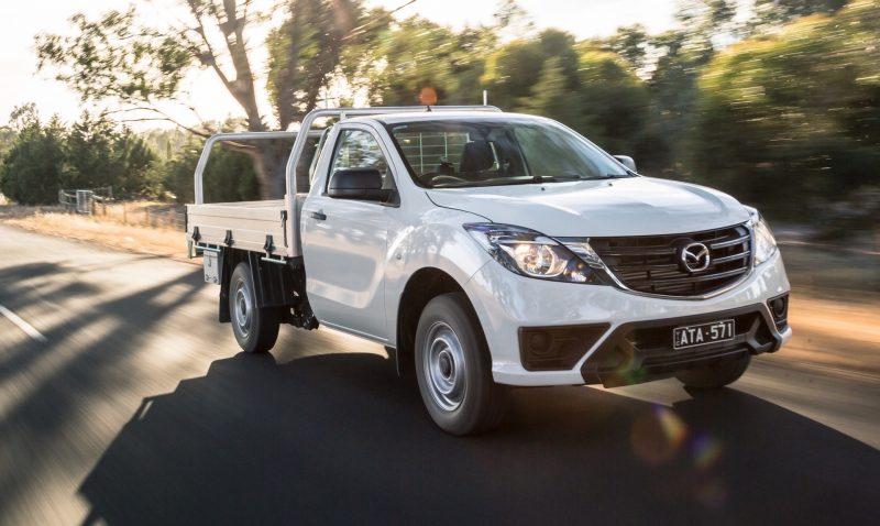 2019 Mazda BT-50 single cab