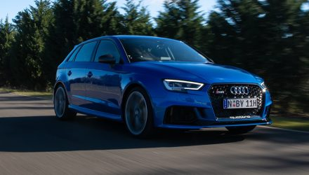 2020 Audi RS 3 now on sale in Australia from $83,800