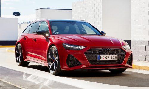2020 Audi RS 6 Avant & RS 7 Sportback announced for Australia
