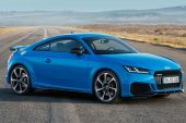 2020 Audi TT RS coupe-blue
