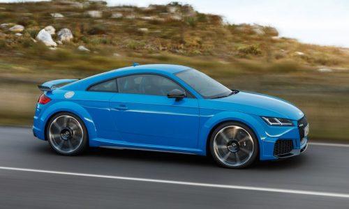 Audi Australia confirms 2020 TT RS, arrives in July