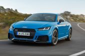 2020 Audi TT RS coupe-road