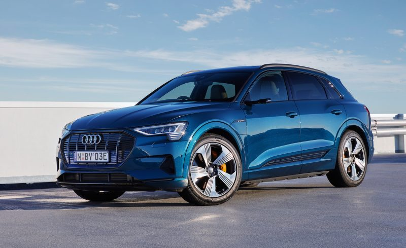 2020 Audi e-tron Australia