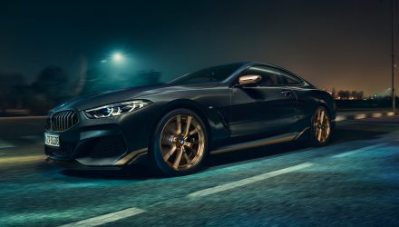 BMW 8 Series Golden Thunder Edition announced