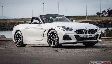 2020 BMW Z4 sDrive20i manual review (video)