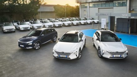 20 Hyundai NEXO hydrogen vehicles deployed in ACT