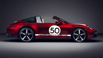 2020 Porsche 911 Targa 4S Heritage Design Edition - decals