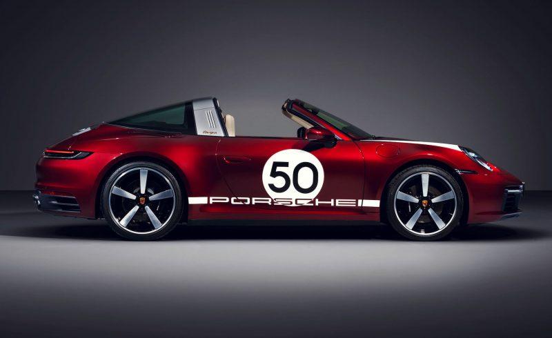 2020 Porsche 911 Targa 4S Heritage Design Edition - decals
