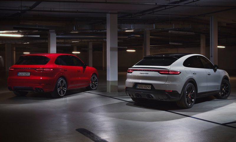 2020 Porsche Cayenne GTS and Coupe GTS