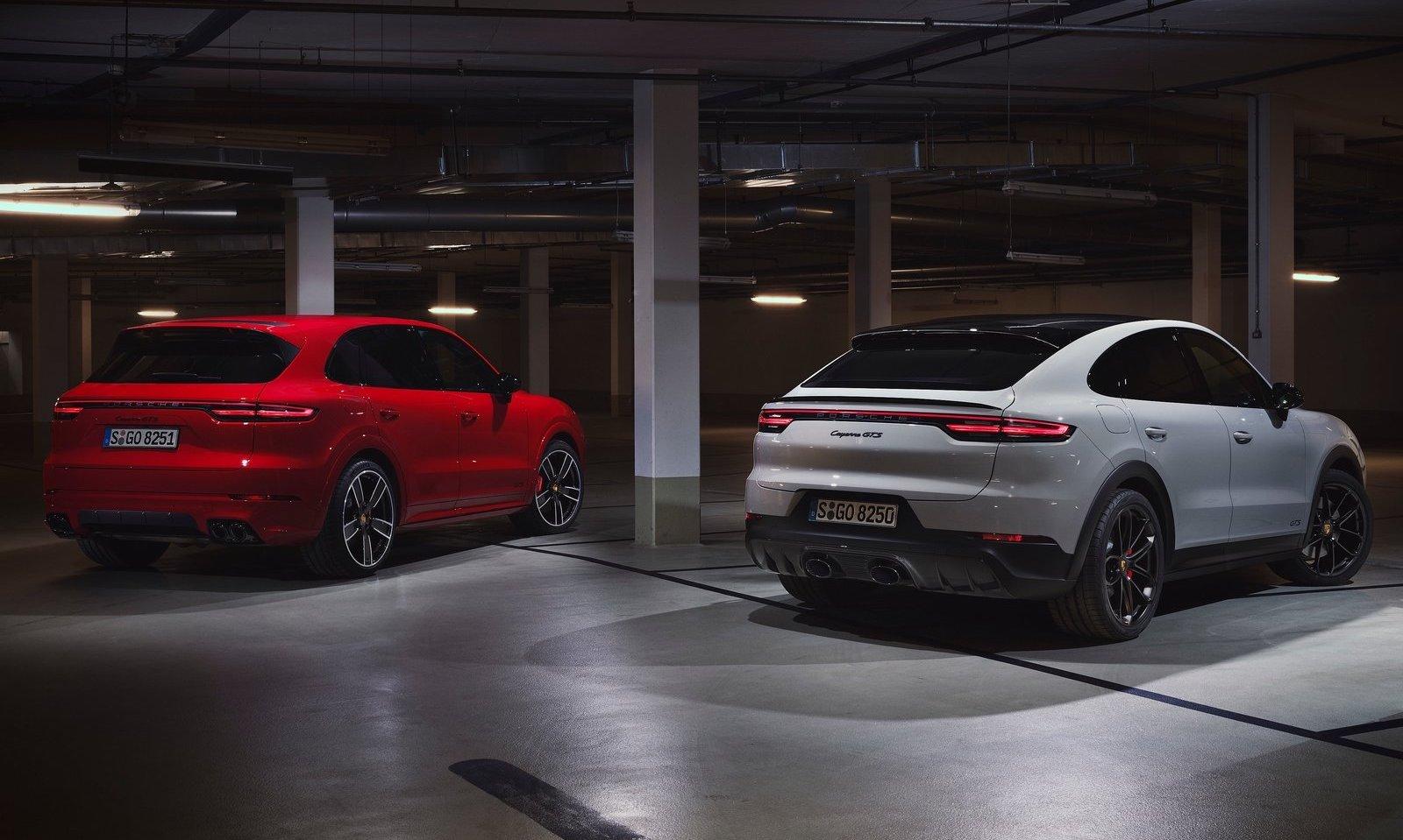 2020 Porsche Cayenne Gts Revealed Gets V8 Power Performancedrive