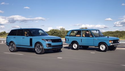 2020 Range Rover Fifty - Tuscan Blue-old and new