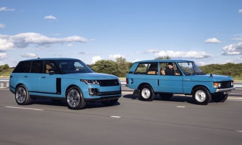 Range Rover Fifty celebrates 50 years since original 1970 model