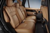 2020 Range Rover Fifty - rear seats
