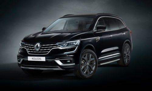 2020 Renault Koleos Black Edition announced for Australia