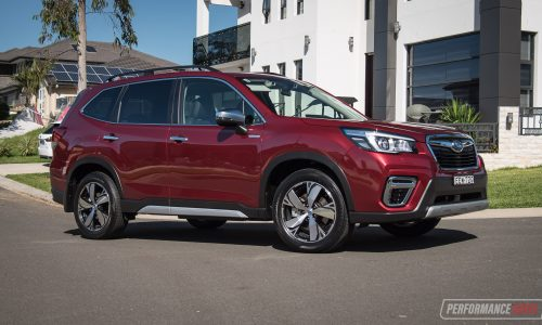 2020 Subaru Forester Hybrid S review (video)