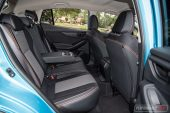 2020 Subaru XV Hybrid-rear seats
