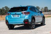 2020 Subaru XV Hybrid-taillights