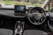 2020 Toyota Corolla Ascent Sport sedan-interior
