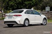 2020 Toyota Corolla Ascent Sport sedan-rear