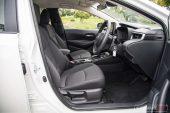 2020 Toyota Corolla Ascent Sport sedan-seats