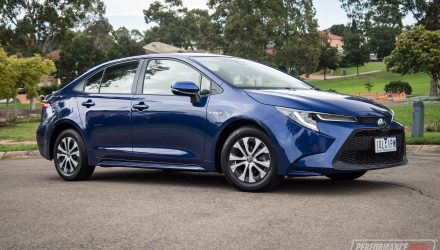 2020 Toyota Corolla SX sedan