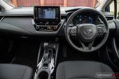 2020 Toyota Corolla SX sedan-interior