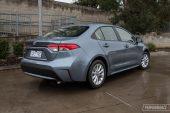 2020 Toyota Corolla SX sedan petrol-rear