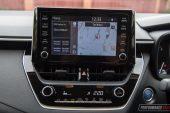 2020 Toyota Corolla SX sedan-sat-nav
