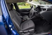 2020 Toyota Corolla SX sedan-seats
