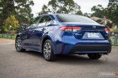 2020 Toyota Corolla SX sedan-taillights