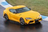 2019 Toyota GR Supra GTS Silverstone Yellow.