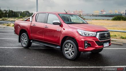2020 Toyota HiLux SR5 review