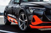 2021 Audi e-tron S prototype-front bumper